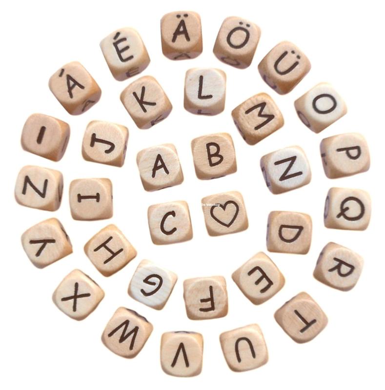 Houten letterkraal