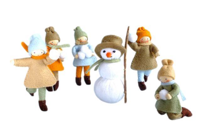 Vijf kinderen en een sneeuwpop Pippilotta
