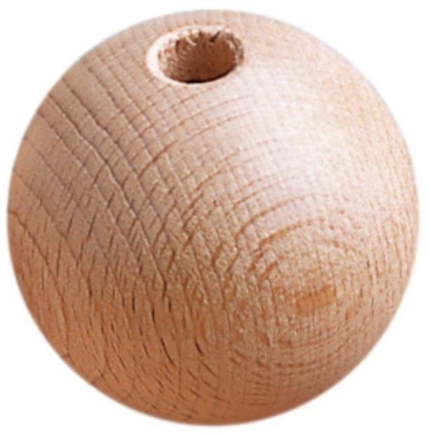 Houten kraal 60mm