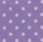Vilt met stippen paars