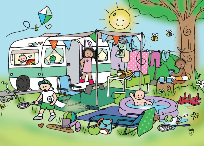 Kaart 'Camping'