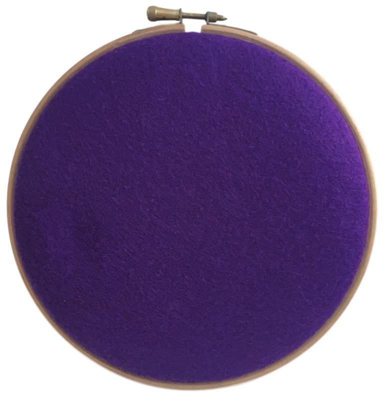 Woolblend Purple rain