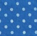 Vilt met stippen blauw