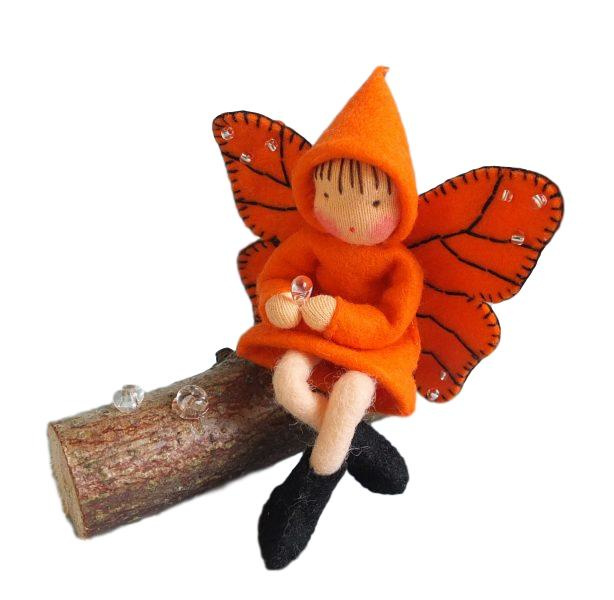 Fladderaar oranje