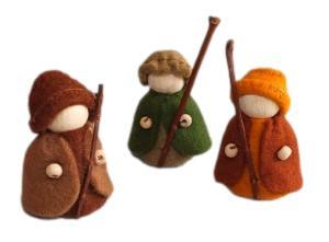 Drie herders Pippilotta