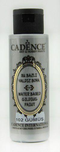 Metallic acrylverf zilver