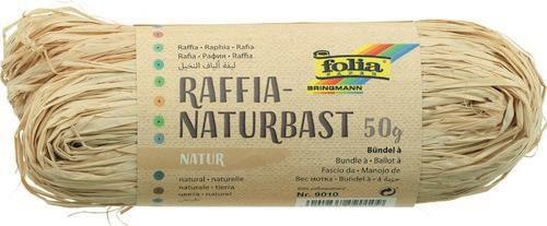 Natuur raffia 50gr