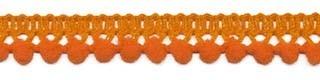 Mini pompomband oranje