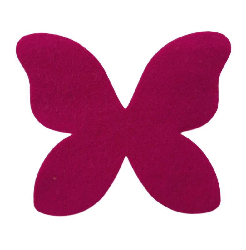 gestanste vlinder 12cm