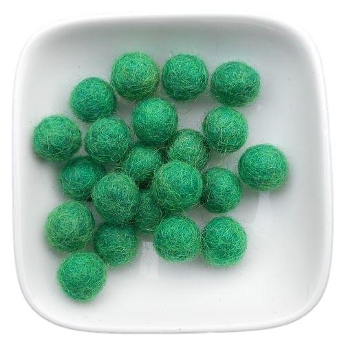 balletje 1cm groen