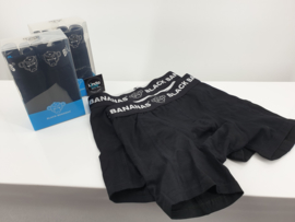 Black Bananas Boxershorts 2pack Black