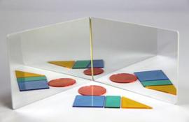 Geometrie Spiegel symmetrie