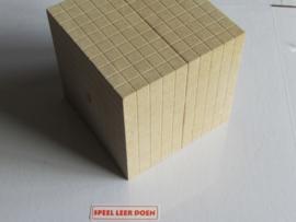 MAB Blok 1000 eenheden dm3 RE WOOD