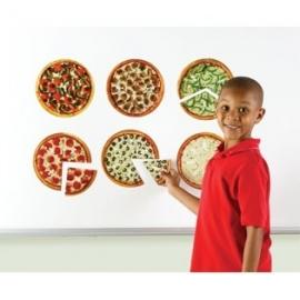 Magnetische Pizza stukken