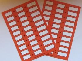 Rekenkaartjes + en - (optellen en aftrekken) 5 stuks