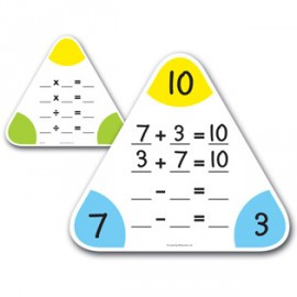 Driehoek Rekenbord 5 stuks