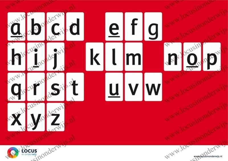 Alfabet Poster A2 (ABC)