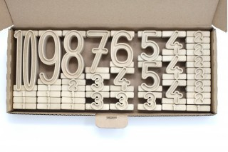 Getallen stapelen - Rekentorens - torennummers - inzicht getallen - Getal torens