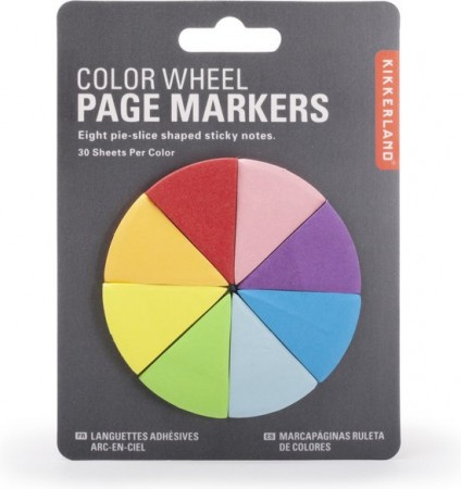 Pagina markers (page markers color wheel)