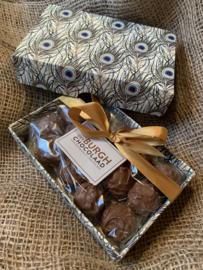 Luxe box melkchocoladetruffels met hazelnootpraliné