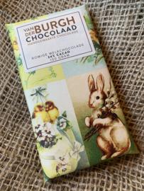 Paasreep fairtrade melkchocolade 100 gr fairtrade (34% cacao)