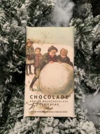 Romige fairtrade melkchocolade 100 gr (34% cacao)
