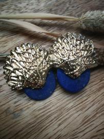 Deep blue sea oorbellen
