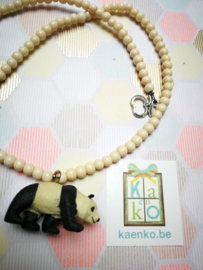 Schattige panda ketting