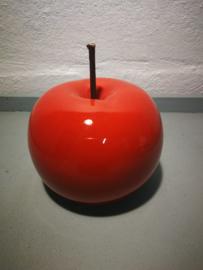 Oranjerode appel keramisch