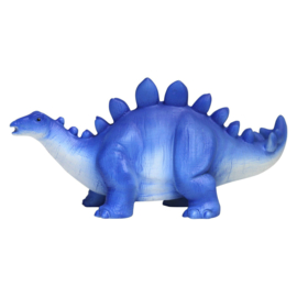 Blauwe stegosaurus led lamp