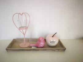 Setje in roze voor moederdag