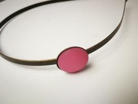 Roze diadeem