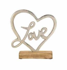 Metalen staander love