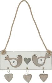 Decoratieve hanger vogels
