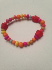 Kleurrijke kids armband