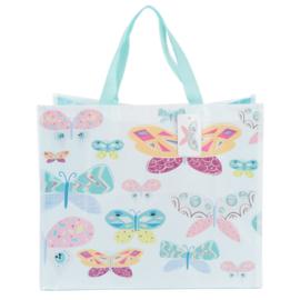 vlinder shopping bag