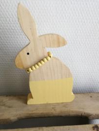 Houten konijn kralen