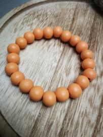 Warm oranje armband