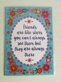 Friends kaartje
