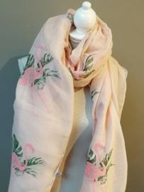 Flamingo sjaal