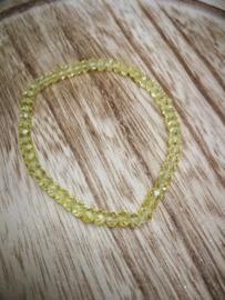 Gele armband