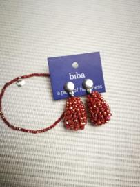 Biba set rood