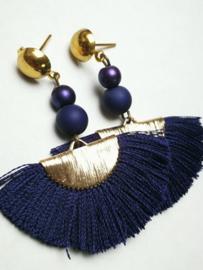 Blauwe waaier