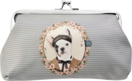 Geldknipbeugel hond artistiek