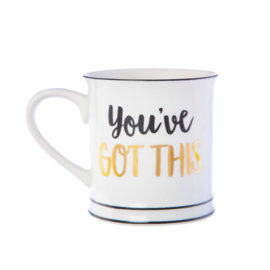 you've got this koffie tas