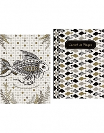Set van 2 mini boekjes vis