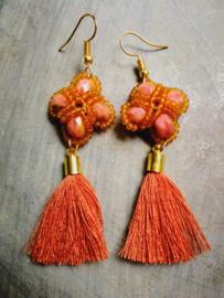 Oranje bead
