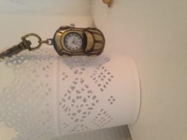 Auto horloge sleutelhanger