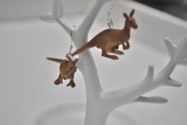 Kangoeroe oorbellen