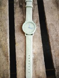 Horloge zacht groen